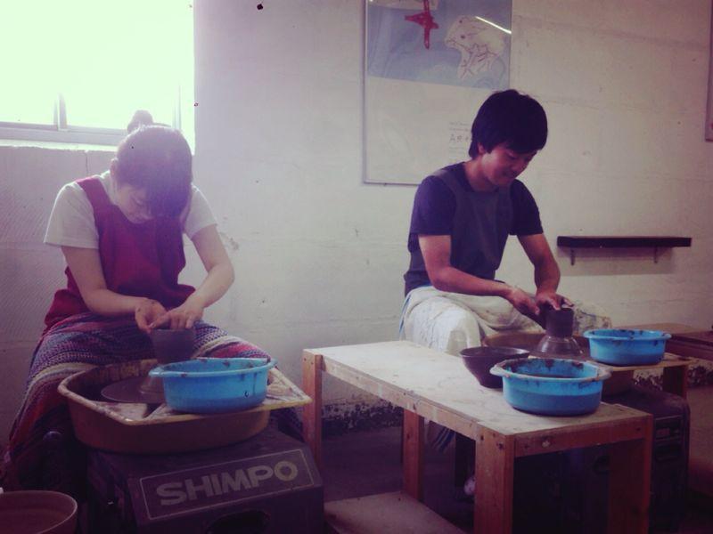 本日の陶芸教室 Vol.161、162_a0163716_2371043.jpg
