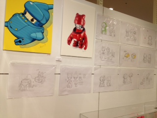 KAIJIN EXHIBITION「SUPACE RACERS 2」開催中!_f0010033_1639418.jpg