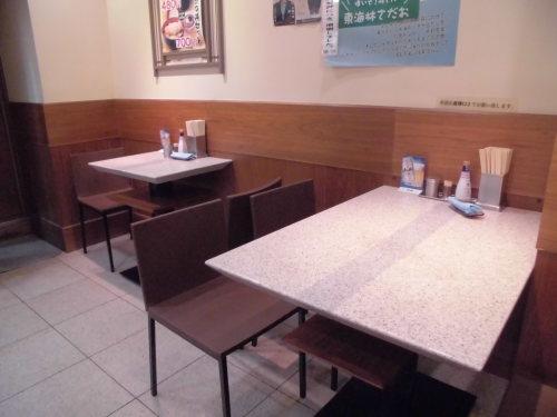 9杯目:富士そば昭和通り店で鮭ごはんセット_f0339637_09123926.jpg