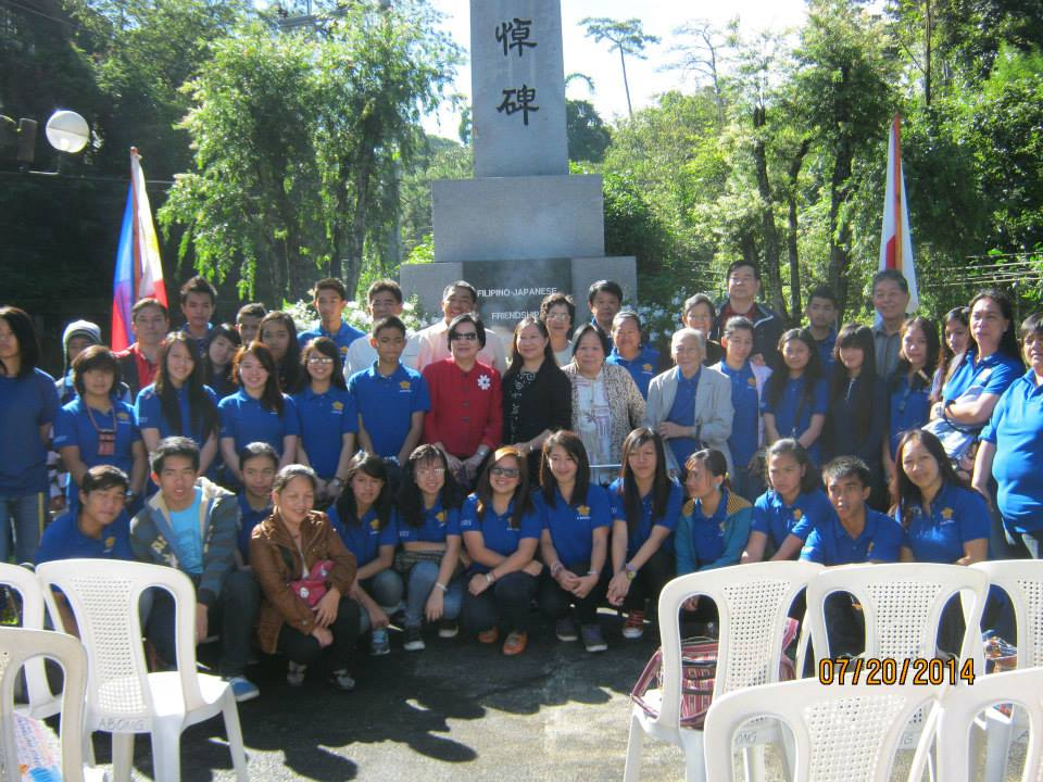 Philippines-Japan Friendship Day ceremony in Baguio city 日比友好の日 2014_a0109542_03322.jpg