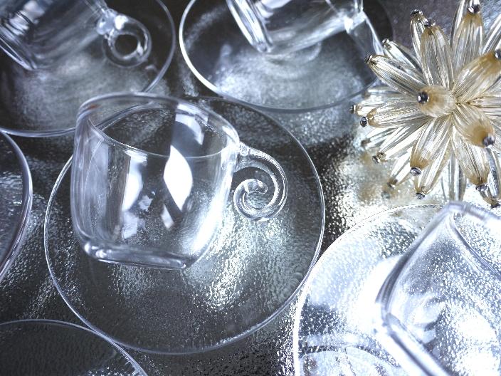 夏に使いたいカップ&ソーサー スガハラガラス_b0202345_10252932.jpg