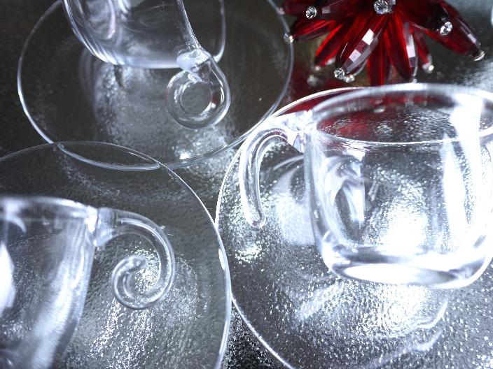夏に使いたいカップ&ソーサー スガハラガラス_b0202345_10275545.jpg