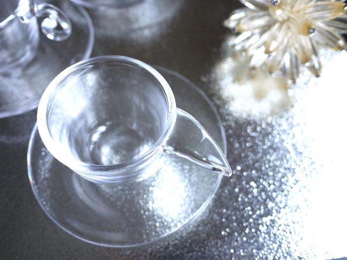 夏に使いたいカップ&ソーサー スガハラガラス_b0202345_1029459.jpg