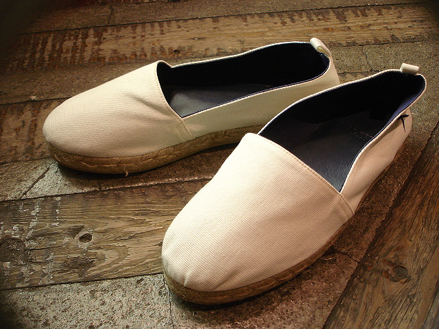 NEW : HACKETT LONDON [ESPADRILLES] WASHED !!_a0132147_0172939.jpg