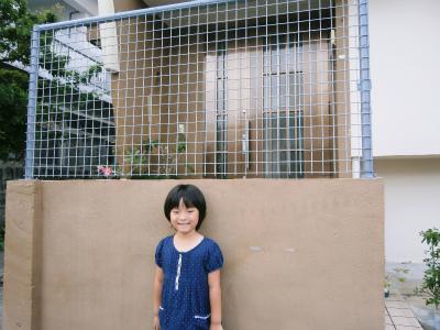 玄関前フェンスの復活_c0180460_222395.jpg