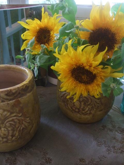 オークリーフ(夏におすすめの花瓶)_f0049672_17571665.jpg