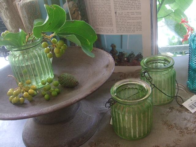 オークリーフ(夏におすすめの花瓶)_f0049672_175994.jpg