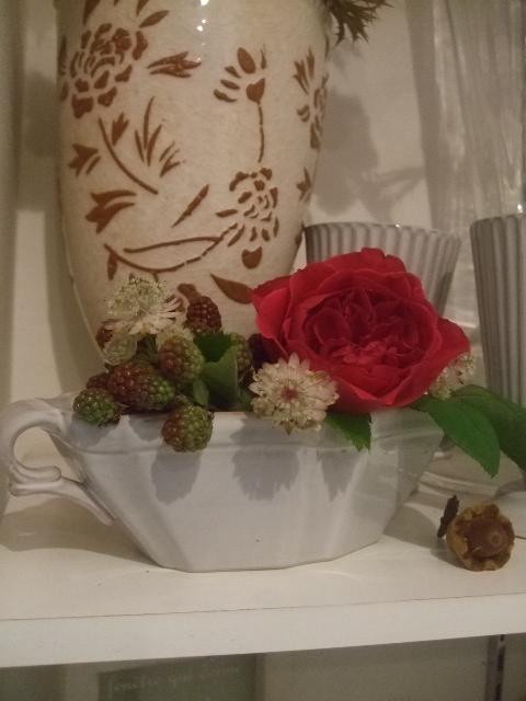オークリーフ(夏におすすめの花瓶)_f0049672_1834147.jpg