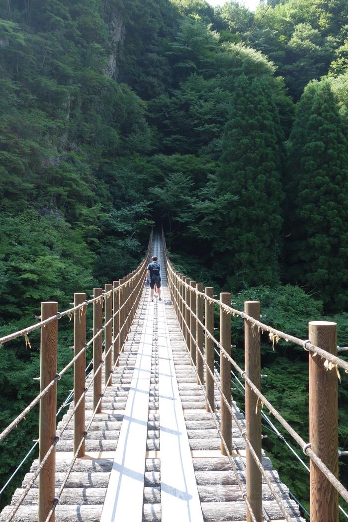 五家荘、樅木の吊り橋_d0116009_23163494.jpg