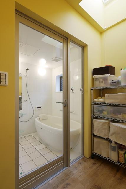 空堀の家/洗面 浴室のようす。_d0111714_12171028.jpg
