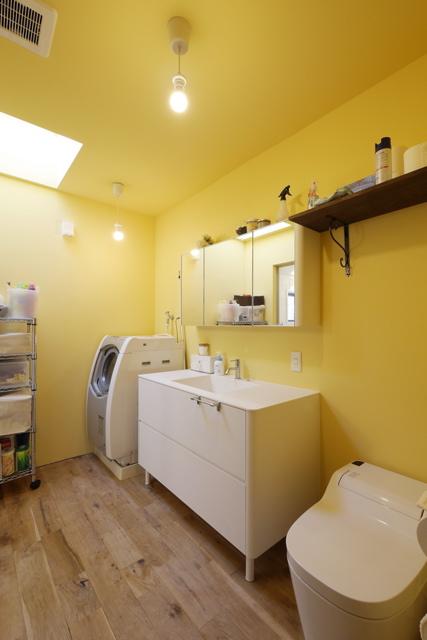 空堀の家/洗面 浴室のようす。_d0111714_12172015.jpg