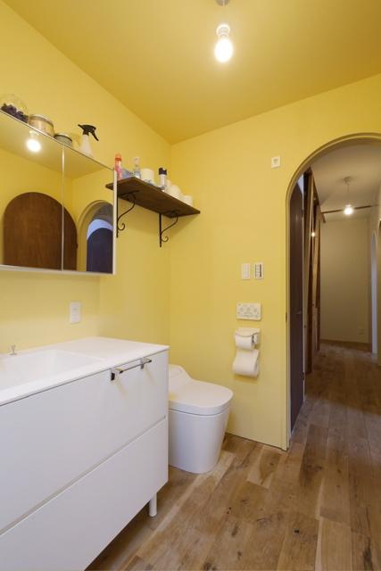 空堀の家/洗面 浴室のようす。_d0111714_12172695.jpg