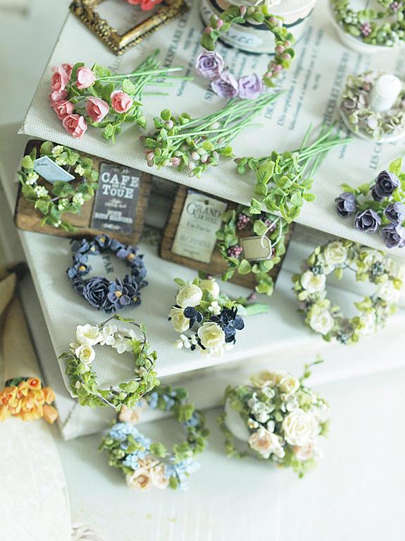 娘の夏休みと、miniature* Flower 2_e0172847_9503925.jpg