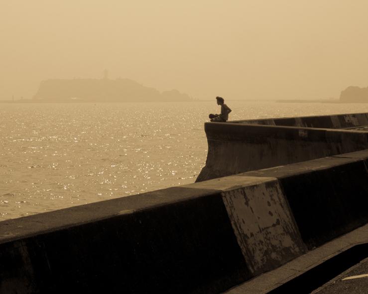 梅雨明けの江の島。_b0022268_1954079.jpg