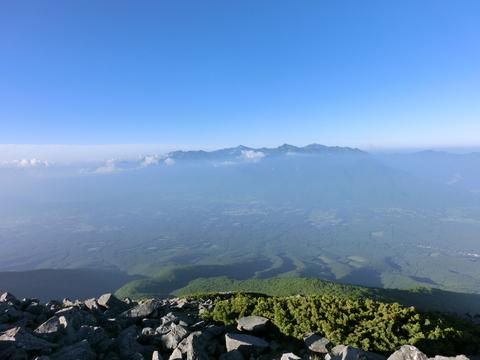 八ヶ岳縦走_d0237801_18293747.jpg