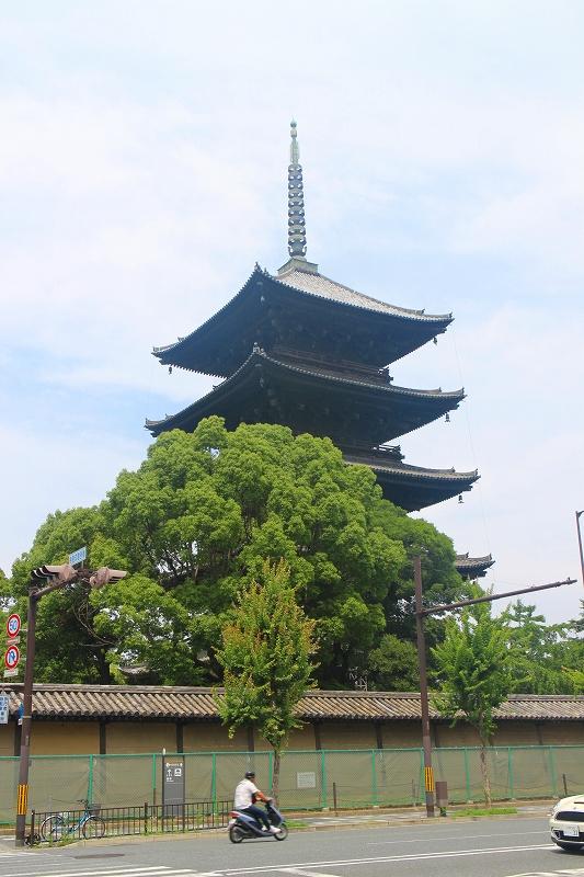 歴史的価値の高い【東寺】20140712_e0237645_16264412.jpg