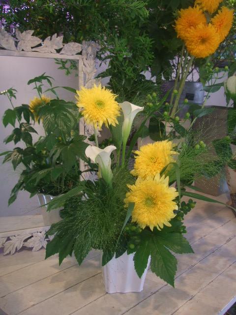 オークリーフ花の教室(甘艸さんと大草さんの作品)_f0049672_17442372.jpg