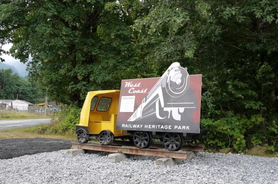 スコーミッシュの鉄道博物館で古き良き時代の列車見学!_d0129786_75689.jpg