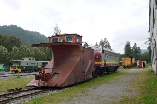 スコーミッシュの鉄道博物館で古き良き時代の列車見学!_d0129786_9101280.jpg