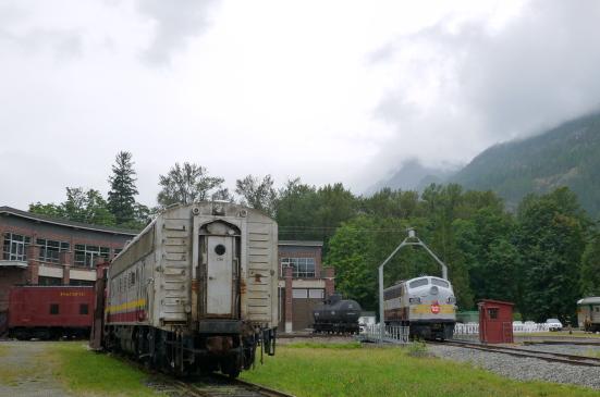 スコーミッシュの鉄道博物館で古き良き時代の列車見学!_d0129786_9134112.jpg