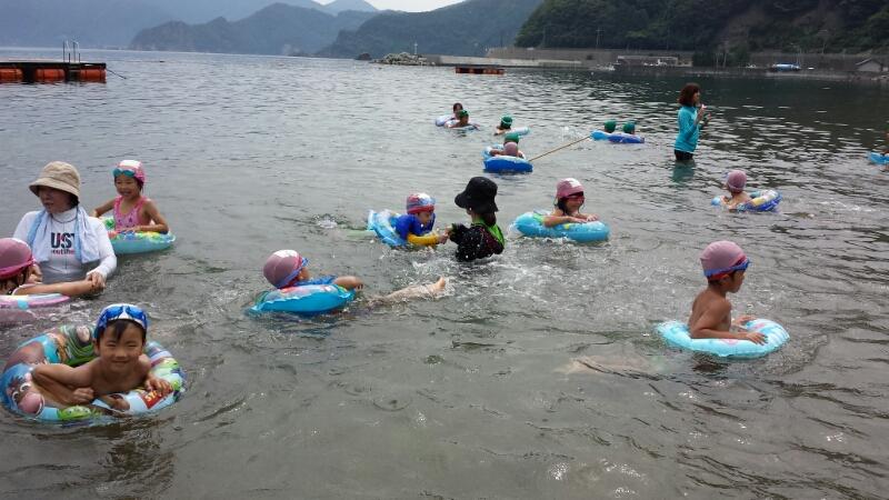 海合宿2日目 ~いのくま海水浴場~_b0117125_12144936.jpg