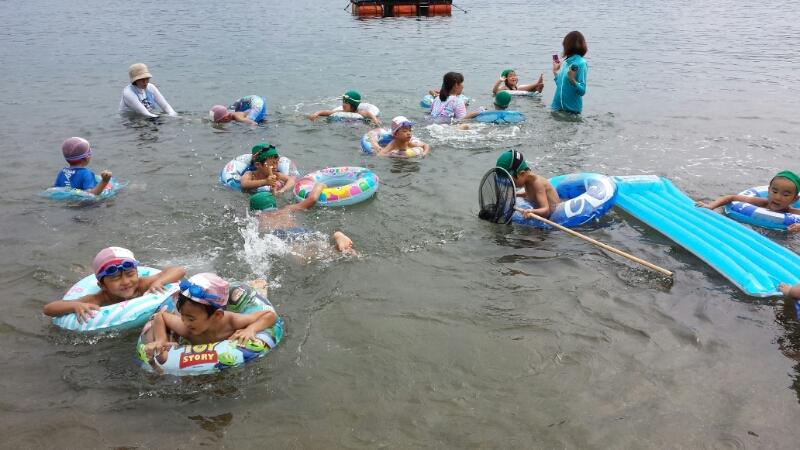 海合宿2日目 ~いのくま海水浴場~_b0117125_12152317.jpg