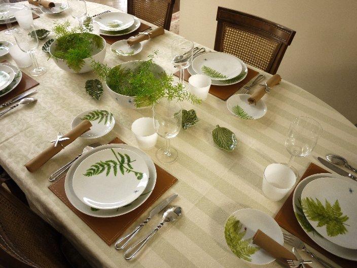 清涼感あふれるランチテーブル_b0202345_21433177.jpg