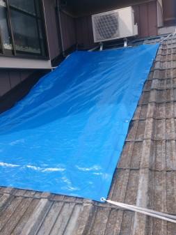 和光市の下新倉で雨漏り修理_c0223192_20445233.jpg