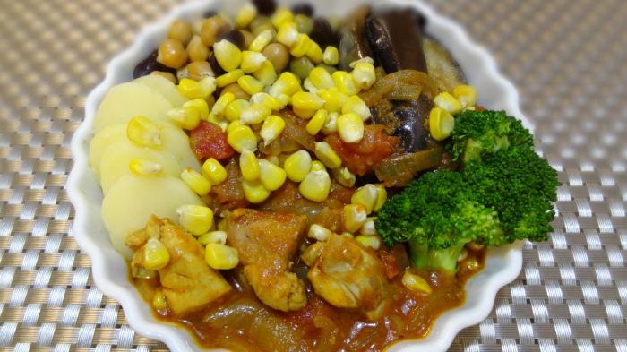 干タコのオーブン焼きと砂肝のコンフィ_b0290816_18224458.jpg