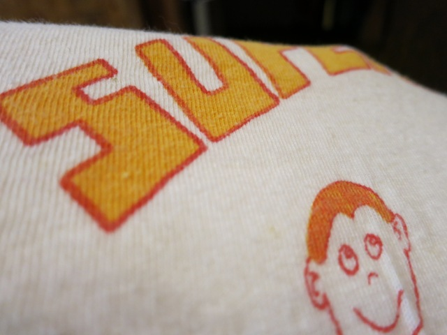 7月26日(土)入荷!70'S HANES 染込みプリントTシャツ!_c0144020_14059100.jpg