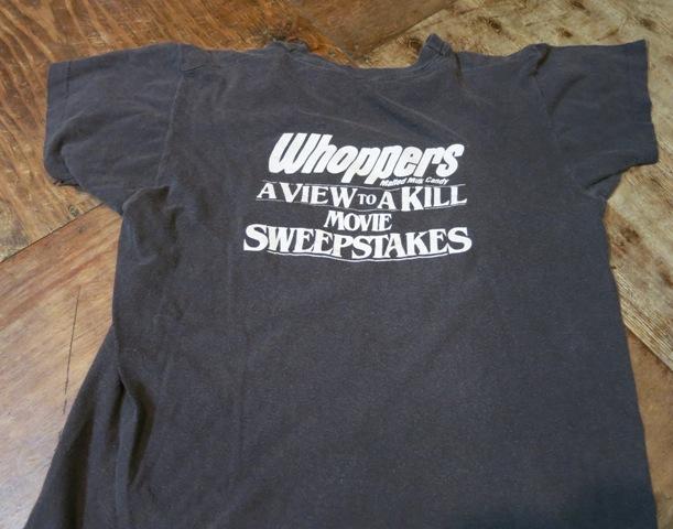 7月26日(土)入荷!80年代 007 A VIEW TO KILL Tシャツ!_c0144020_1423555.jpg