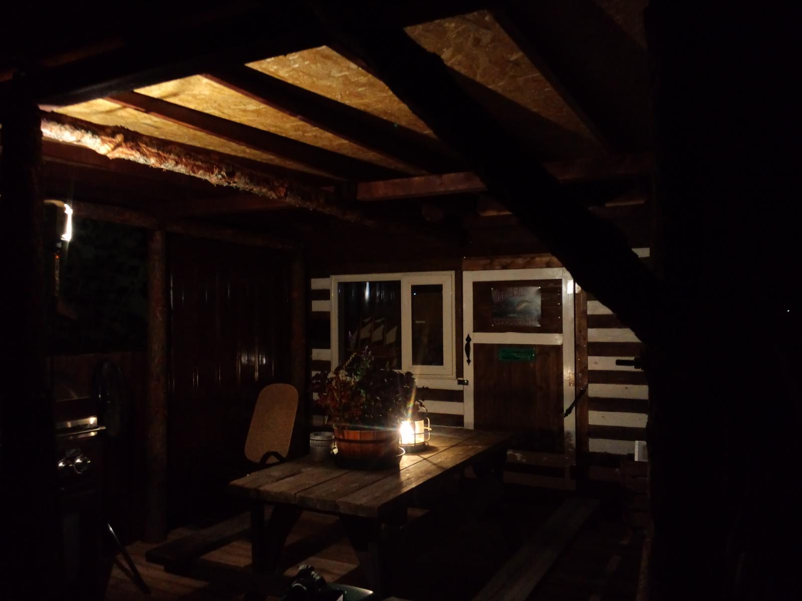「お爺ちゃんの釣り小屋」 完成_a0160770_12174692.jpg