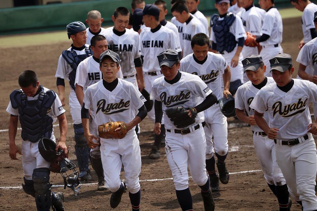第96回全国高等学校野球選手権京都大会 綾部高校vs龍谷大平安3_a0170082_20352170.jpg