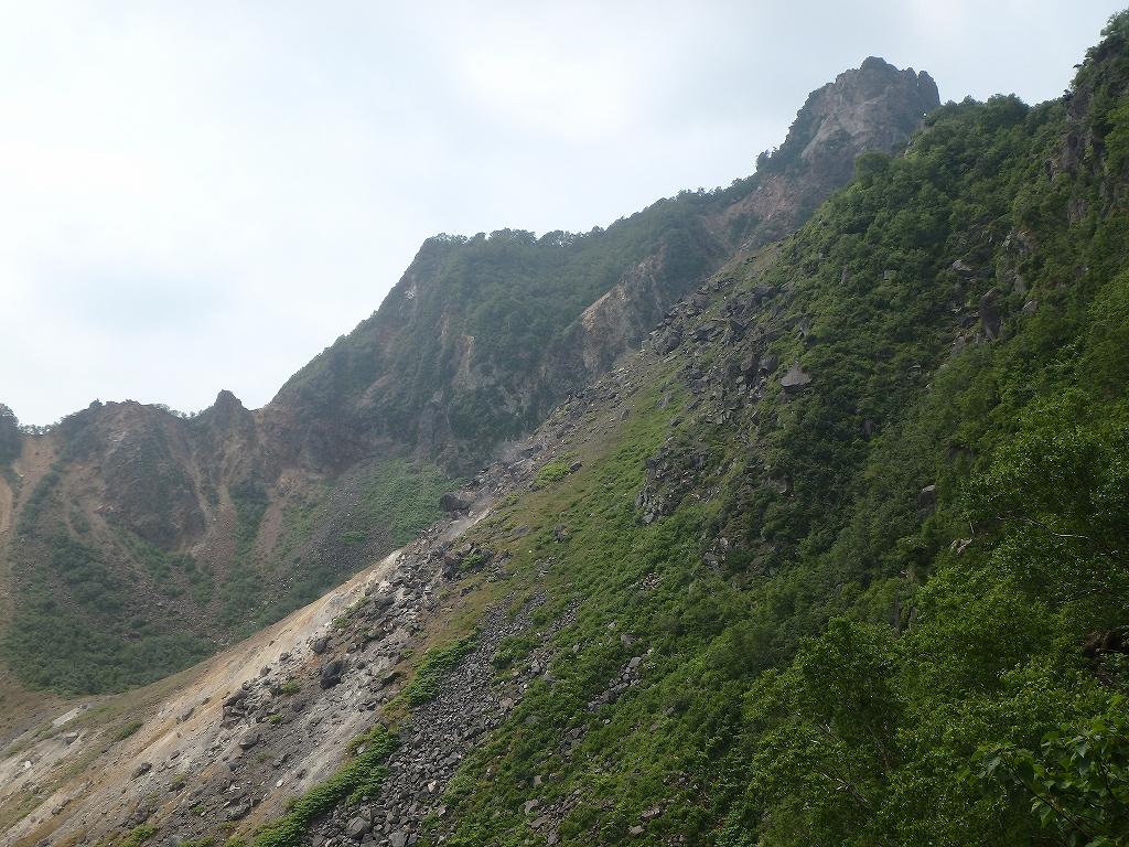 地震後の恵庭岳、再び 7月25日-速報版-_f0138096_15581434.jpg