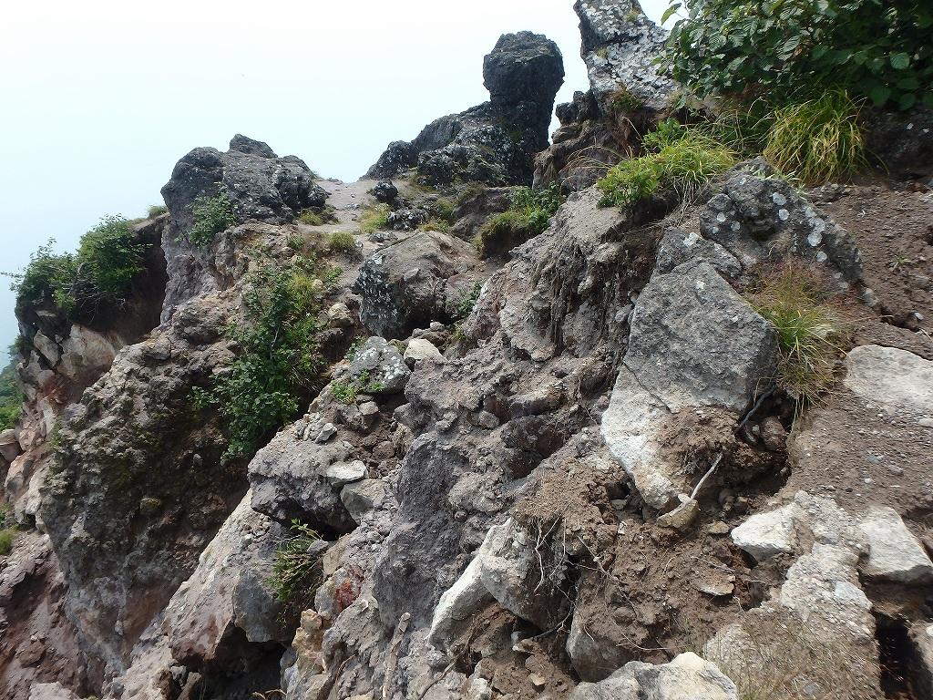 地震後の恵庭岳、再び 7月25日_f0138096_22101052.jpg