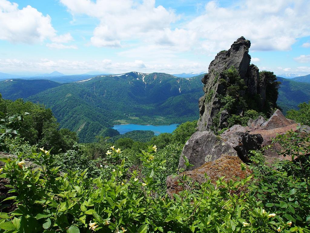 地震後の恵庭岳、再び 7月25日_f0138096_229121.jpg