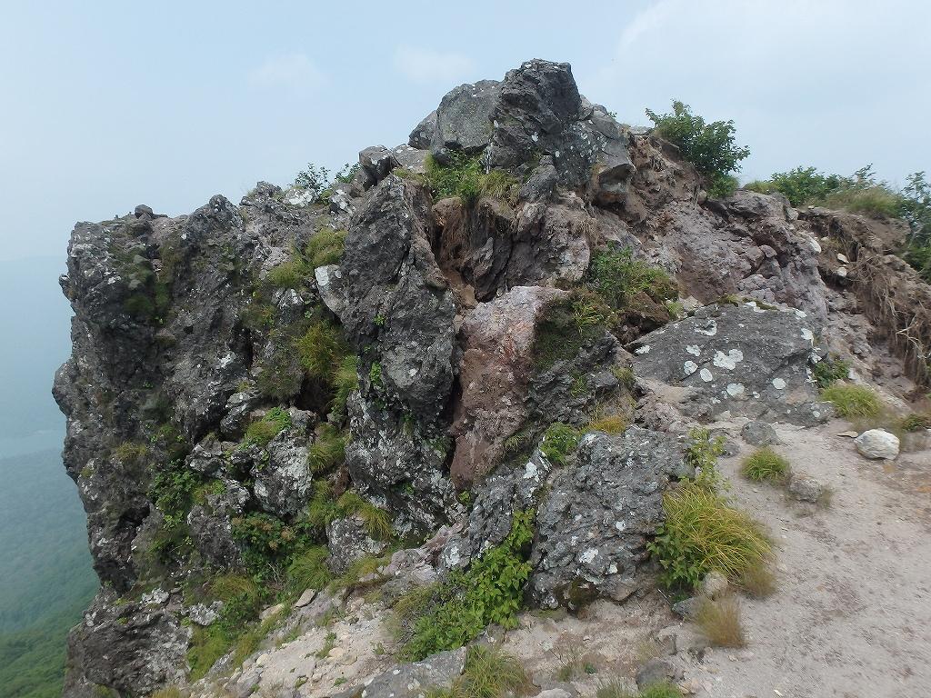 地震後の恵庭岳、再び 7月25日_f0138096_2292038.jpg