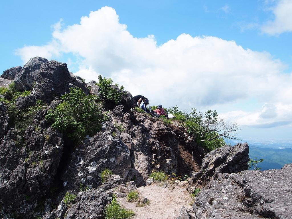 地震後の恵庭岳、再び 7月25日_f0138096_229329.jpg