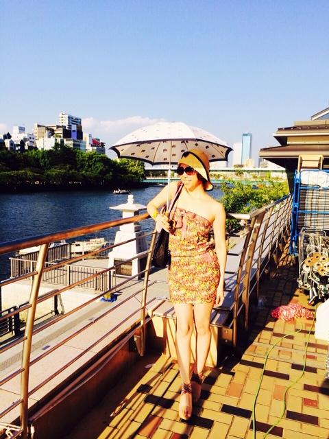 天神祭の大阪は暑い。2/2_a0050302_154042100.jpg
