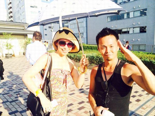 天神祭の大阪は暑い。2/2_a0050302_15472445.jpg