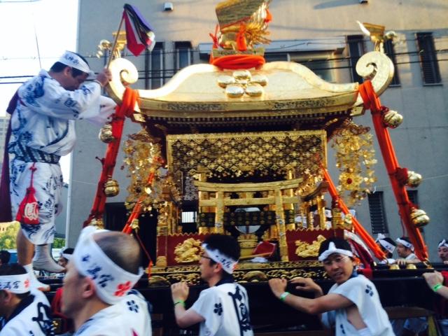天神祭の大阪は暑い。2/2_a0050302_15553438.jpg