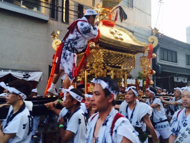 天神祭の大阪は暑い。2/2_a0050302_1555948.jpg