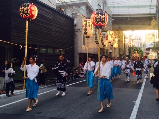 天神祭の大阪は暑い。2/2_a0050302_15562739.jpg