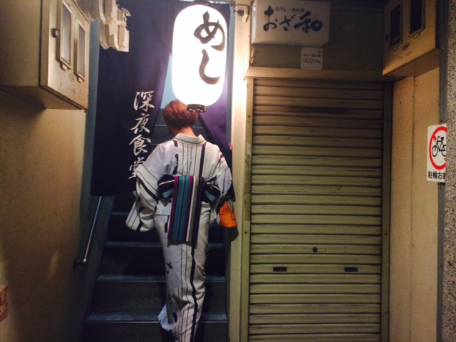 天神祭の大阪は暑い。1/2_a0050302_485022.jpg