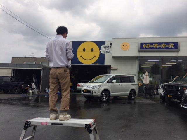 店長のニコニコブログ!7月25日 金曜日☆ ランクル ハマー アルファード_b0127002_0242740.jpg