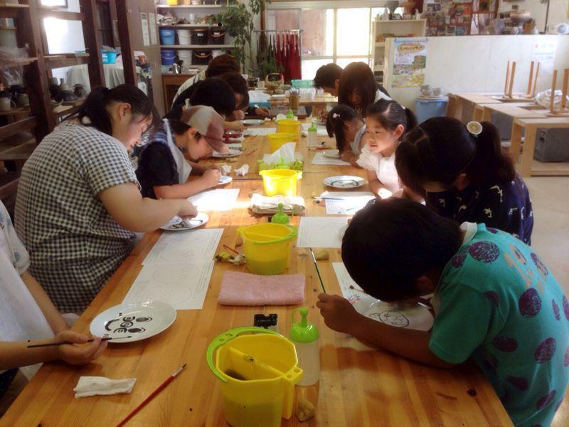 本日の陶芸教室 Vol.164_a0163716_2255821.jpg