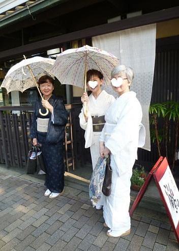 野田淳子さん、素敵な宮古上布に藤布の帯。_f0181251_12364082.jpg