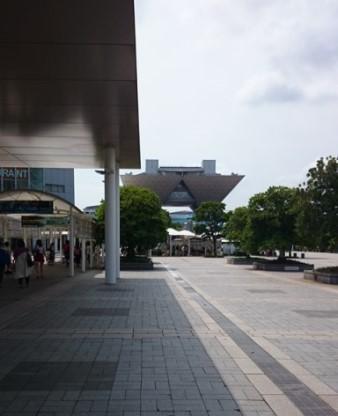 【絵日記風】 東京ビッグサイト出展してきました~イベント当日編~_f0228652_23343427.jpg
