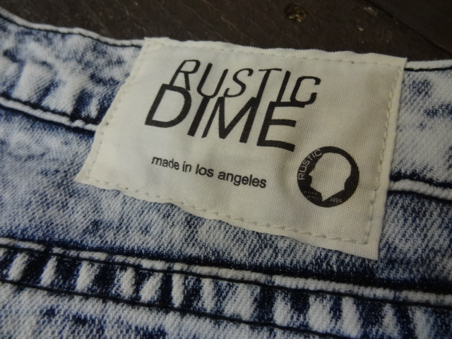 Rustic Dime SLIM FIT-80\'S WASH STYLE!!!_a0221253_20185360.jpg