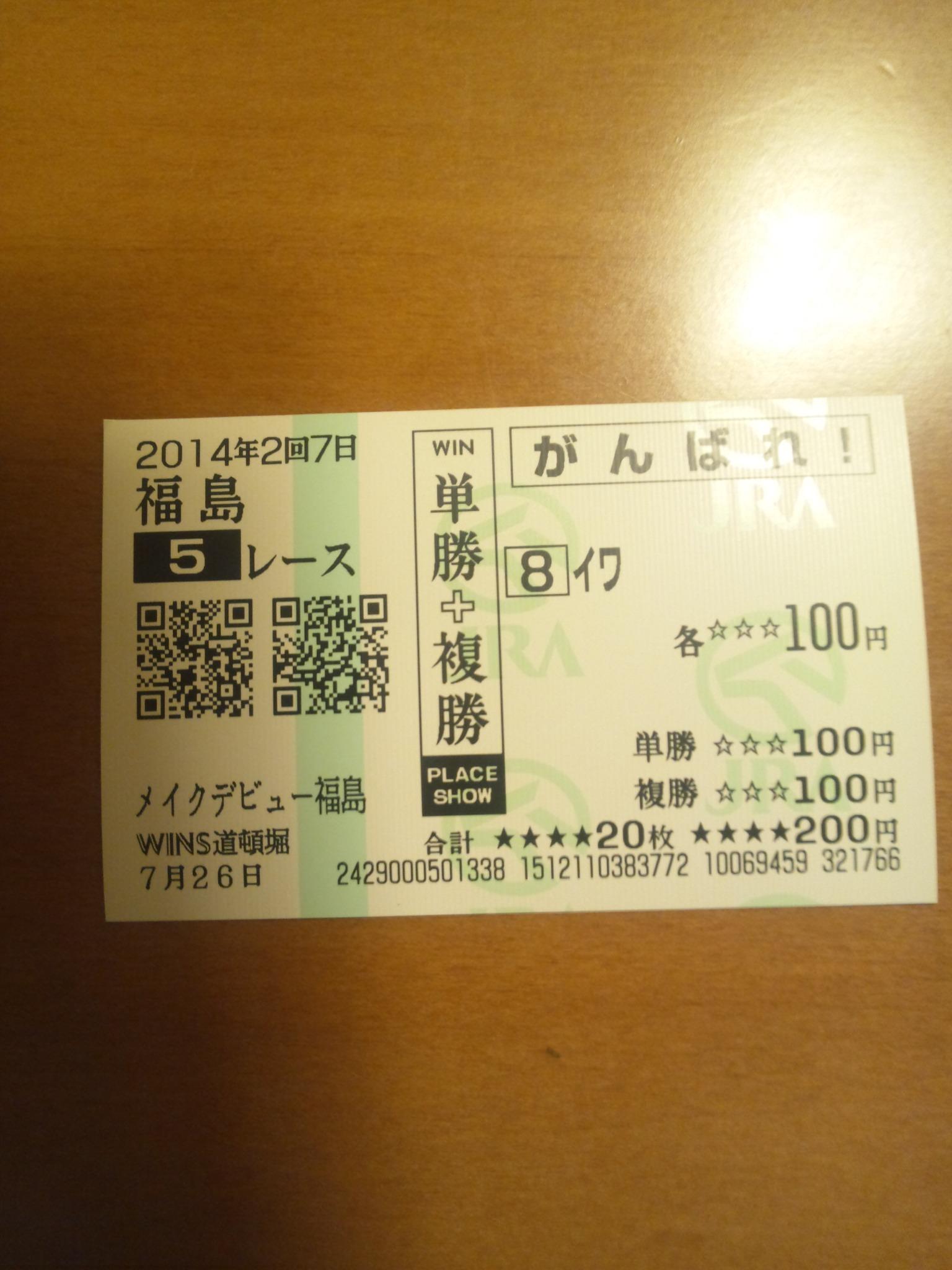 今日の福島5レース_c0001670_22241981.jpg